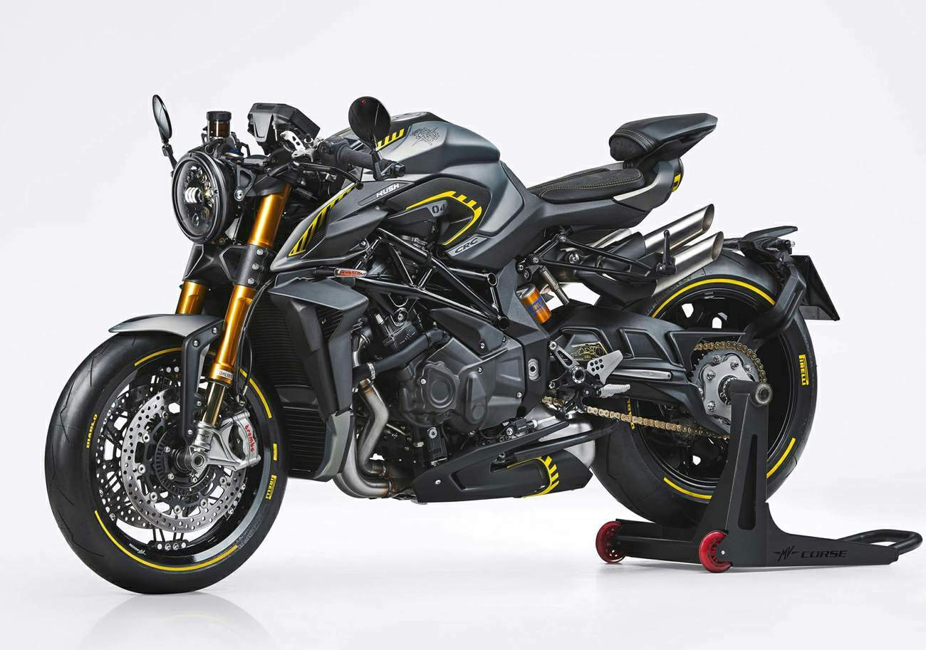 MV Agusta Rush Limited Edition technical specifications